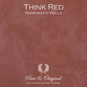 think red marrakech walls